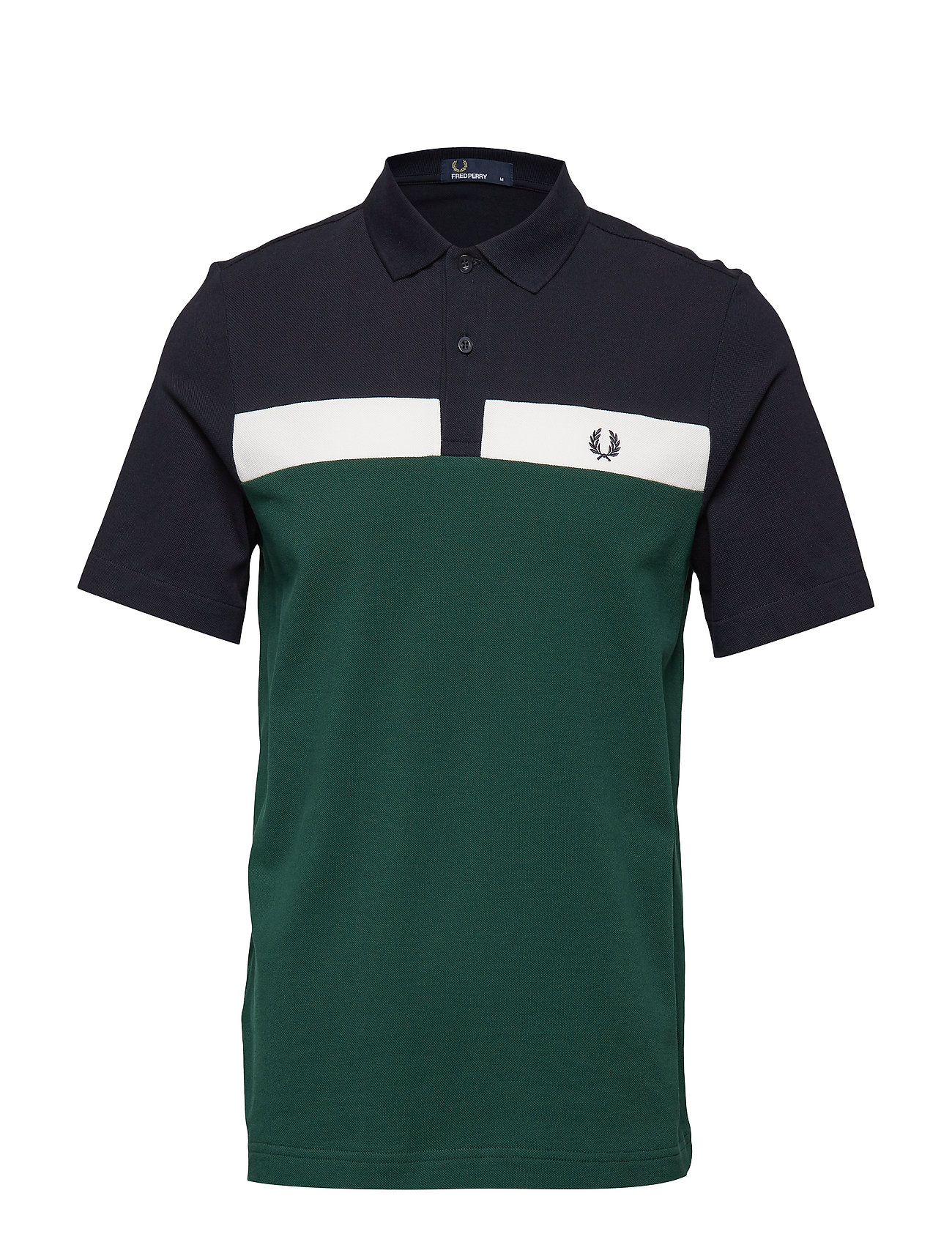 Fred Perry CONTRAST PIQUE SHIRT - IVY