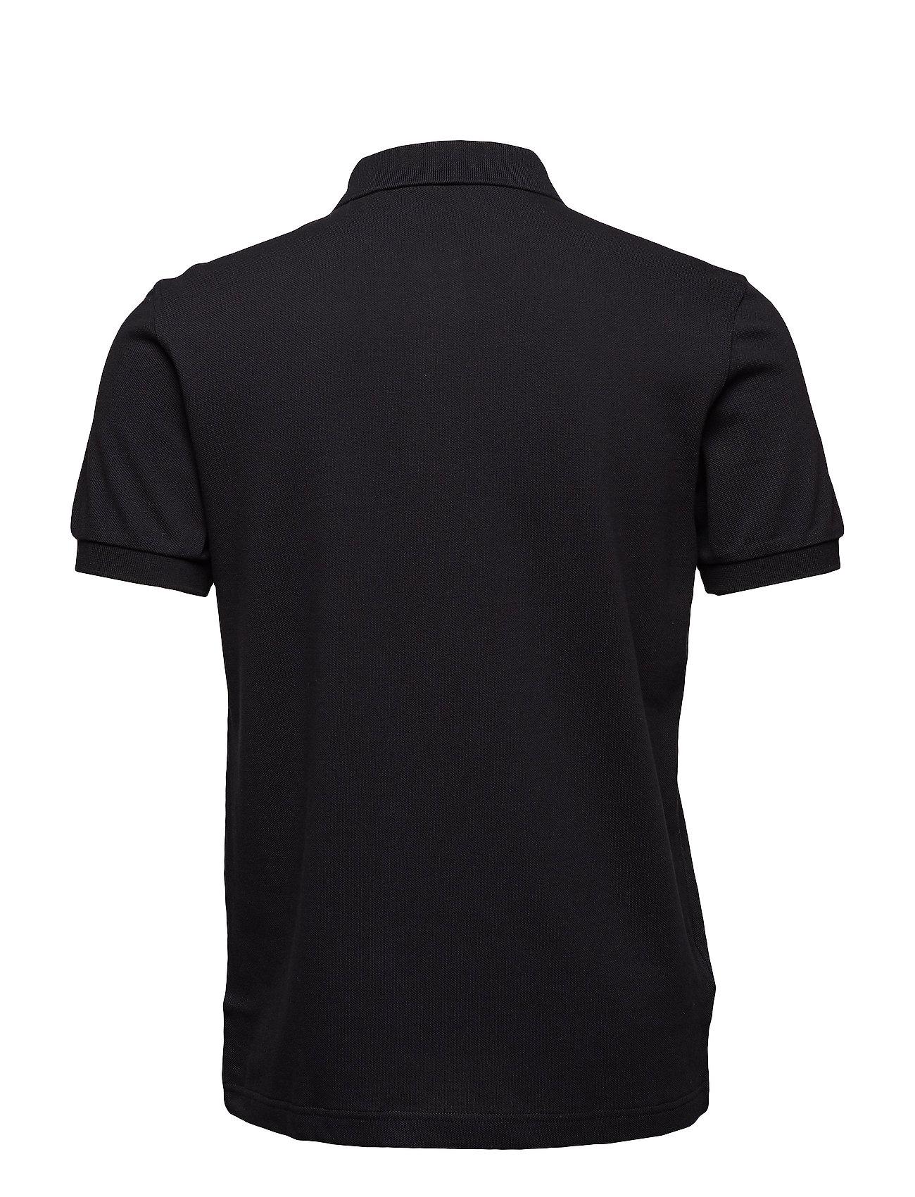 Fred Perry PLAIN FP SHIRT - Poloskjorter BLACK/CHROME - Menn Klær