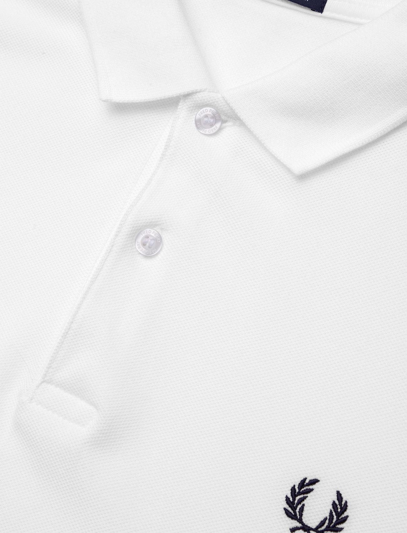 Fred Perry PLAIN FP SHIRT - Poloskjorter WHITE - Menn Klær