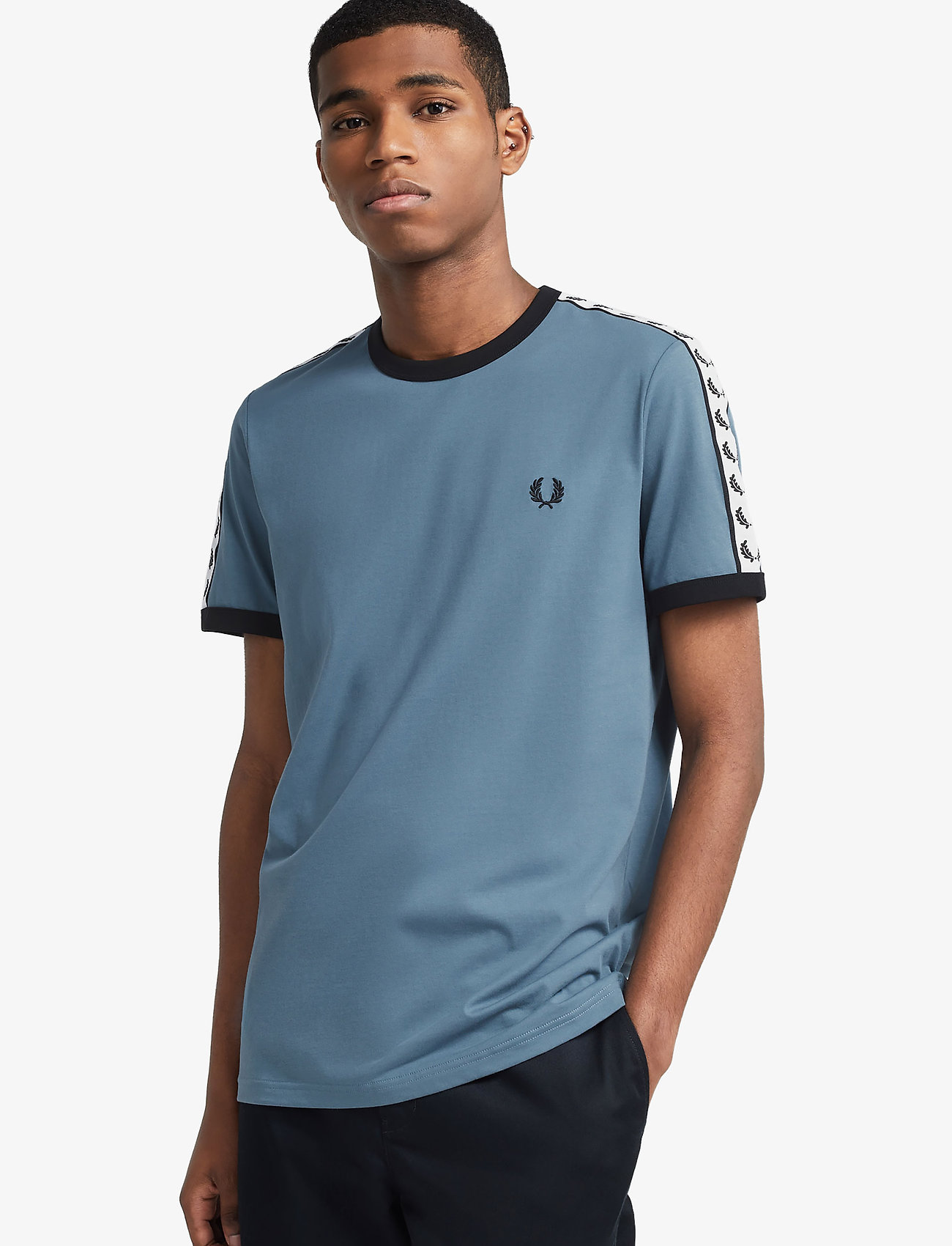 Green RING T-SHIRT  Fred Perry  T-shirts