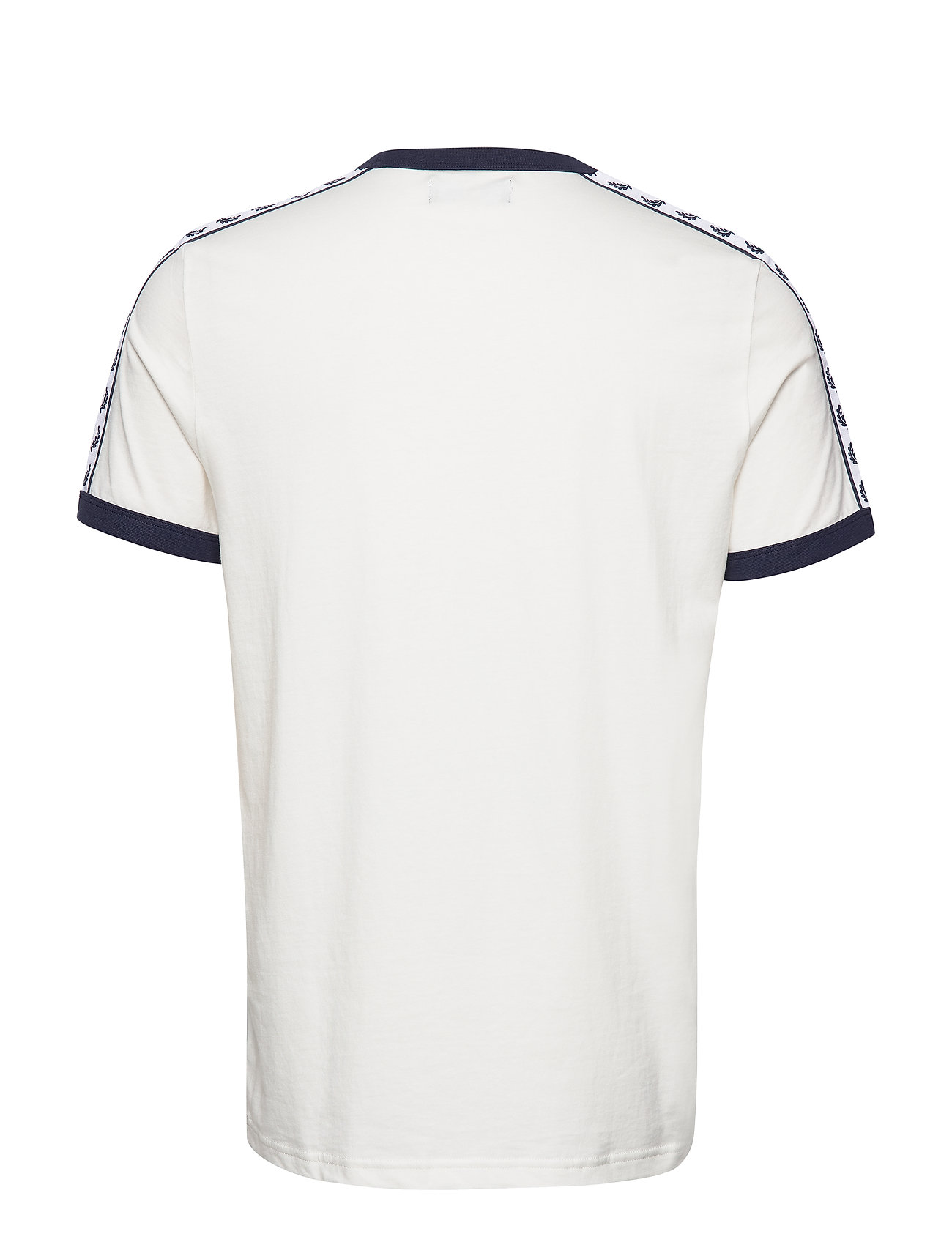 Taped Ringer T Shirt T shirt Hvid Fred Perry