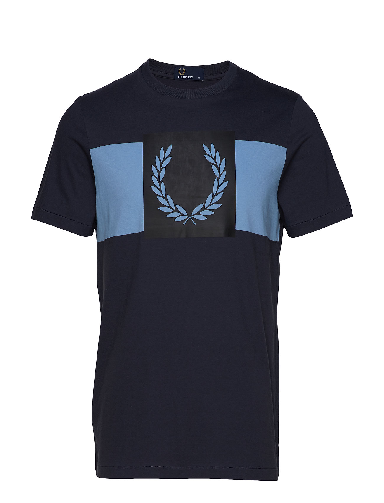 Fred Perry LAUREL WREATH T-SHIRT - GRAPHITE