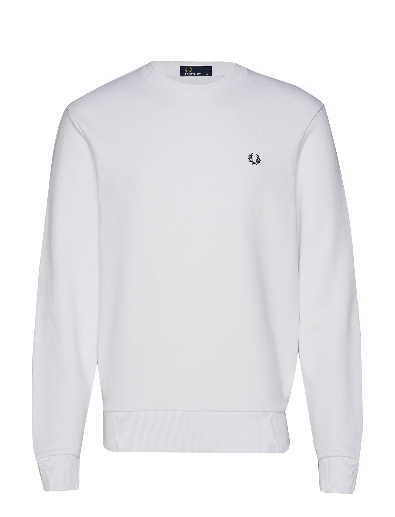 Fred Perry Laurel Wreath Sweatsh. - WHITE