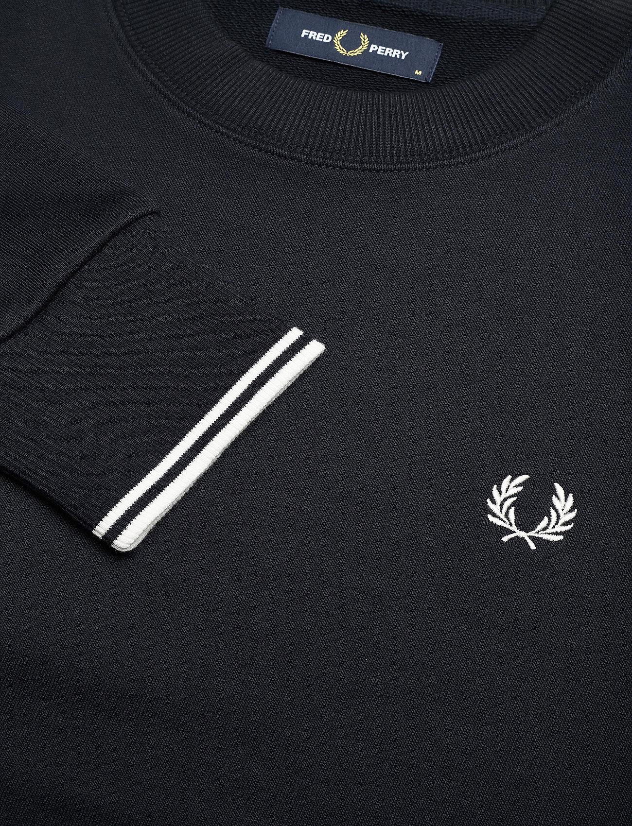 Fred Perry CREW NECK SWEATSHIRT - Sweatshirts NAVY - Menn Klær