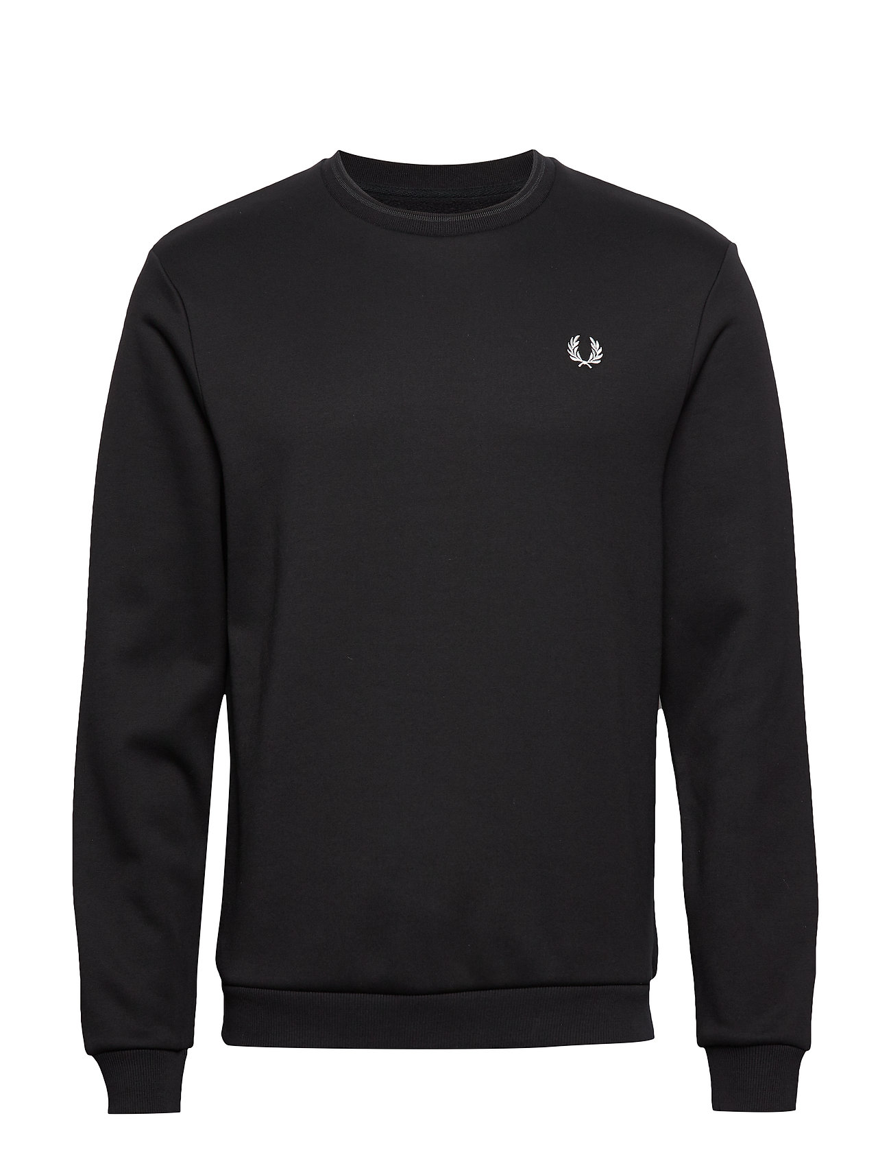 Fred Perry LAUREL WREATH SWEATS. - BLACK