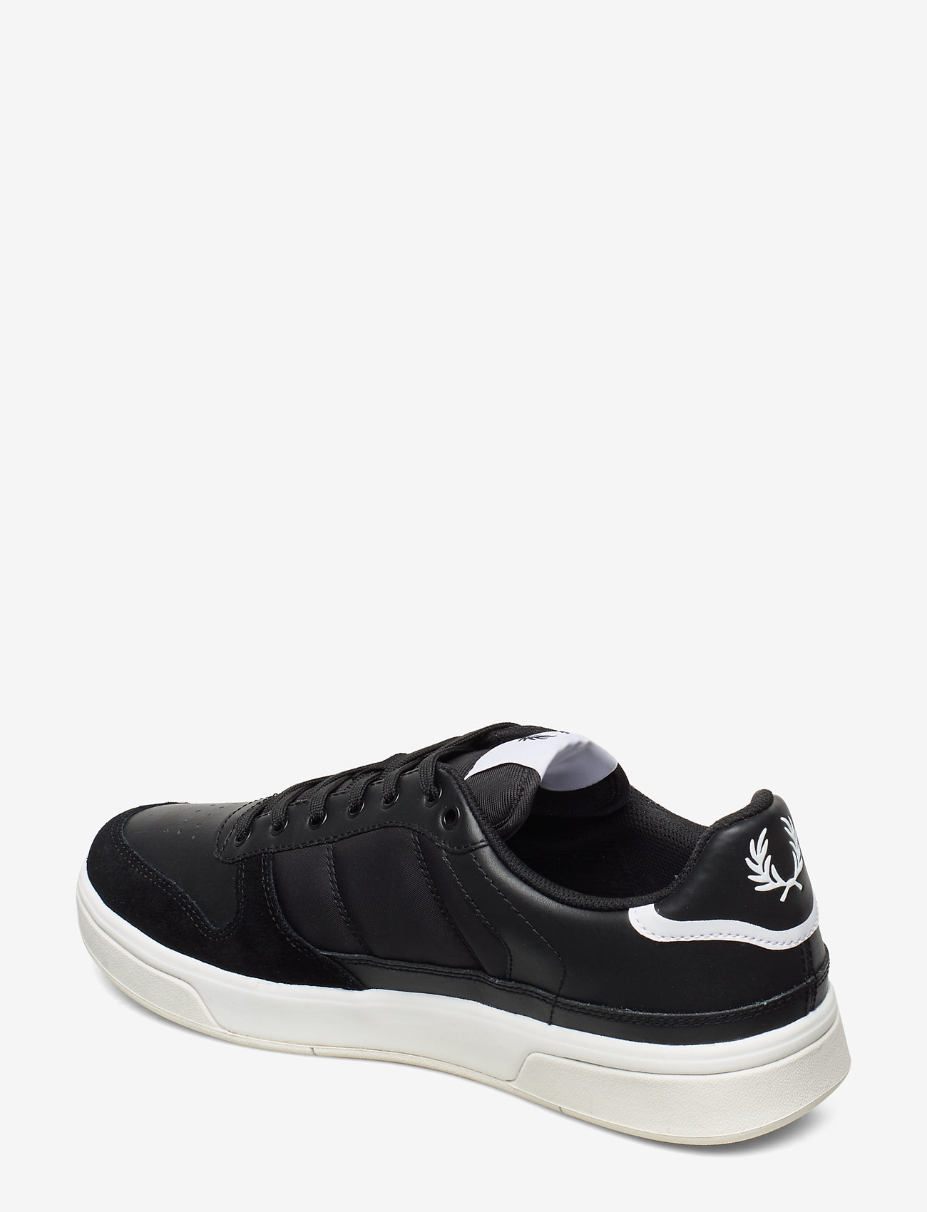 B300 Leather/poly (Black) - Fred Perry
