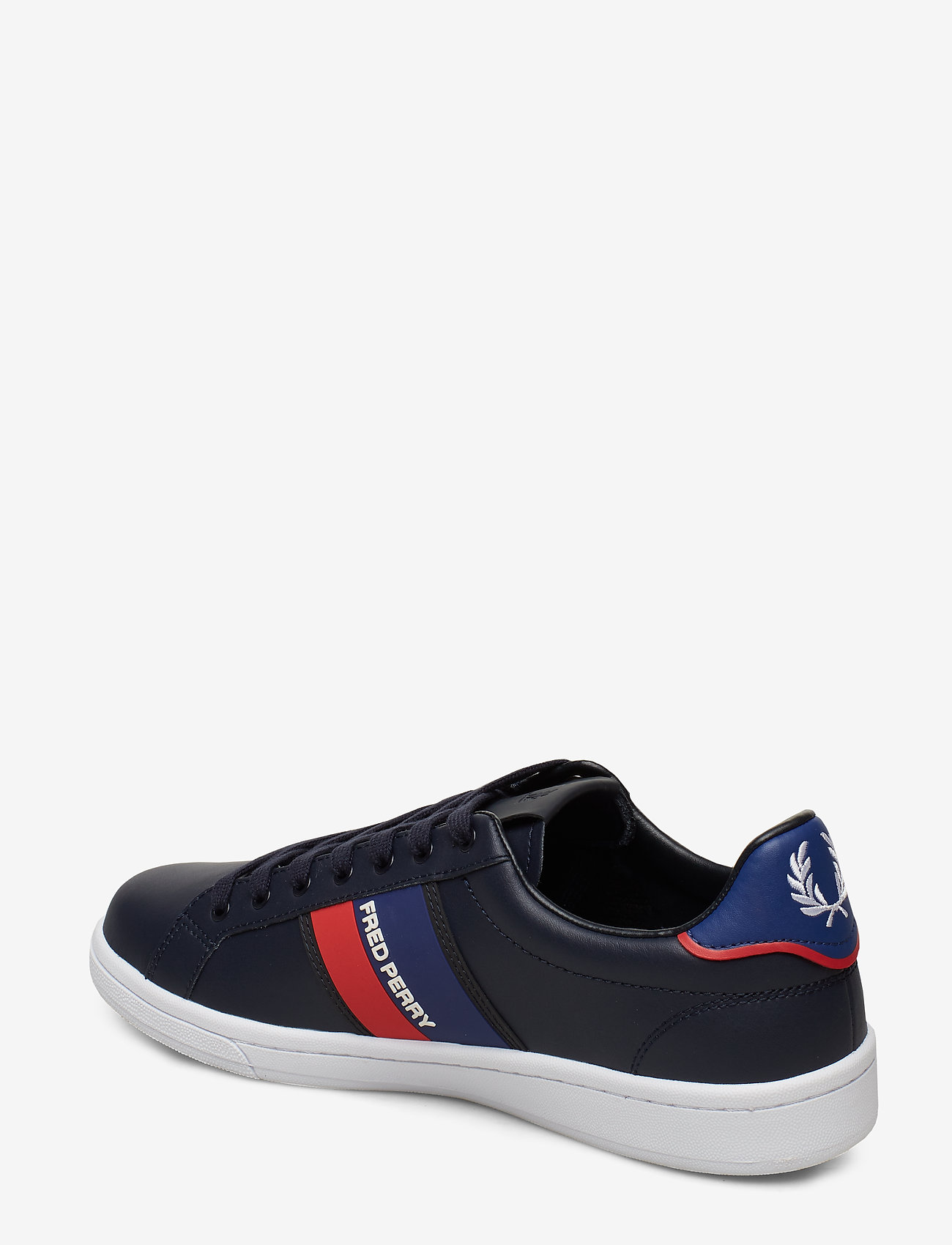B721 Two Tone Brand. (Navy) - Fred Perry