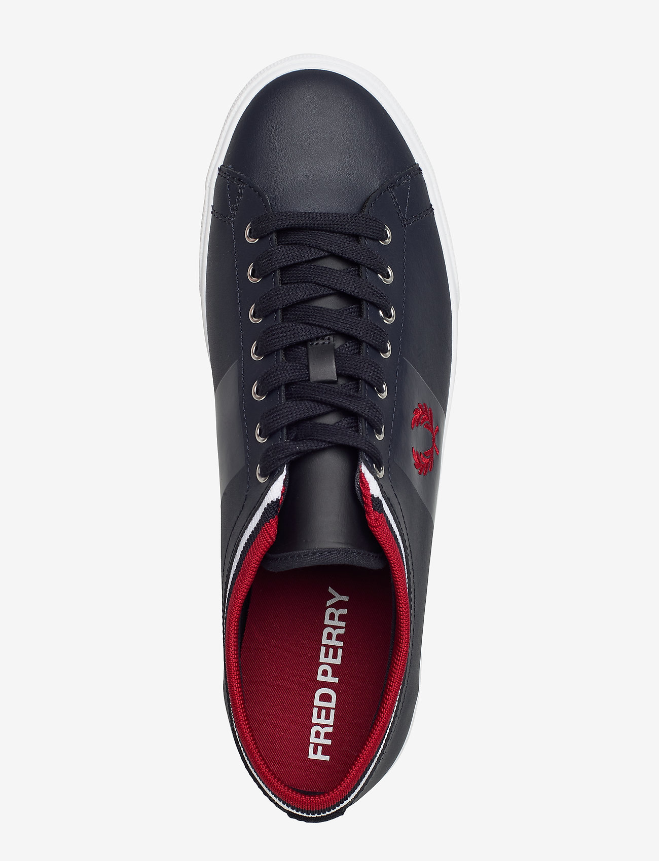 Unders. Tip. Cuff Lthr (Navy) - Fred Perry