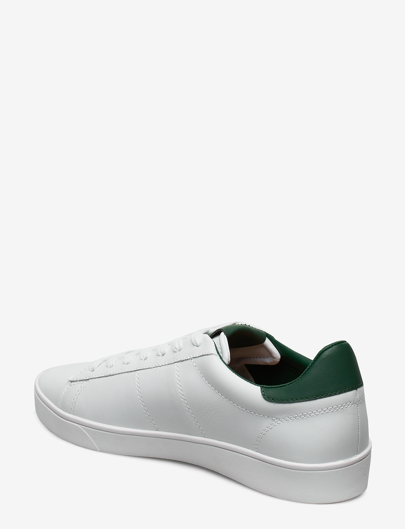 Spencer Leather (White) - Fred Perry
