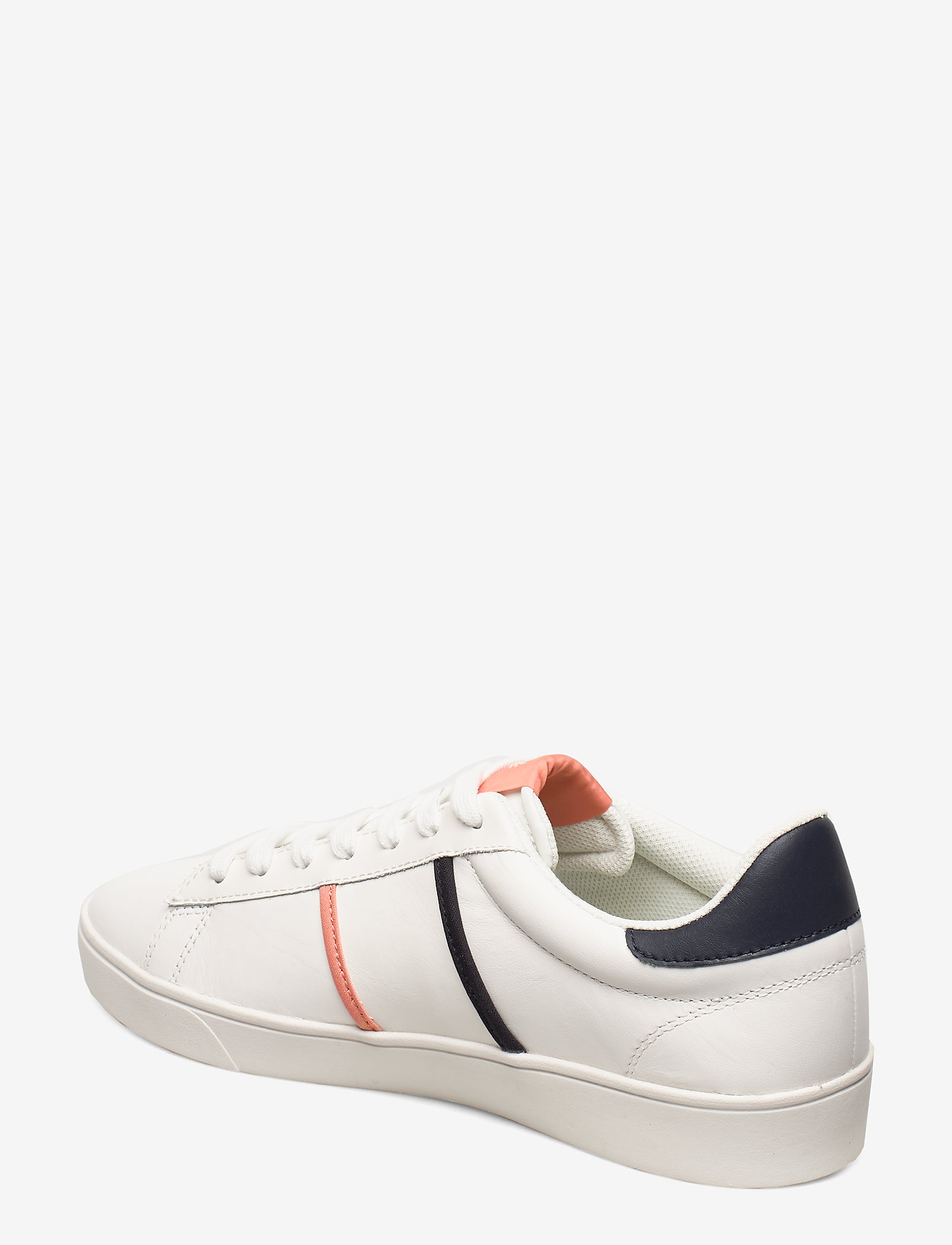Spencer Lthr/tipping (Snow White) - Fred Perry