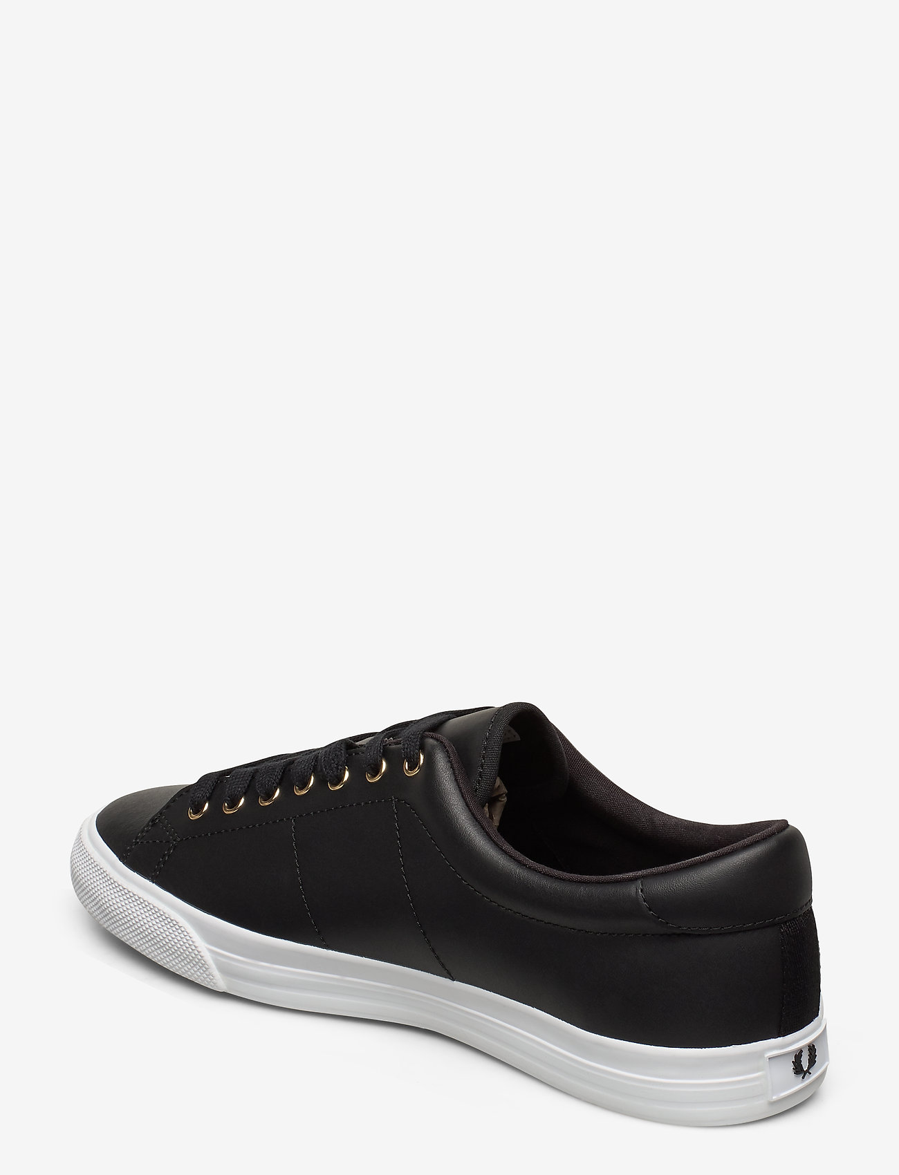 Fred Perry Underspin Leather - Sneakers Black