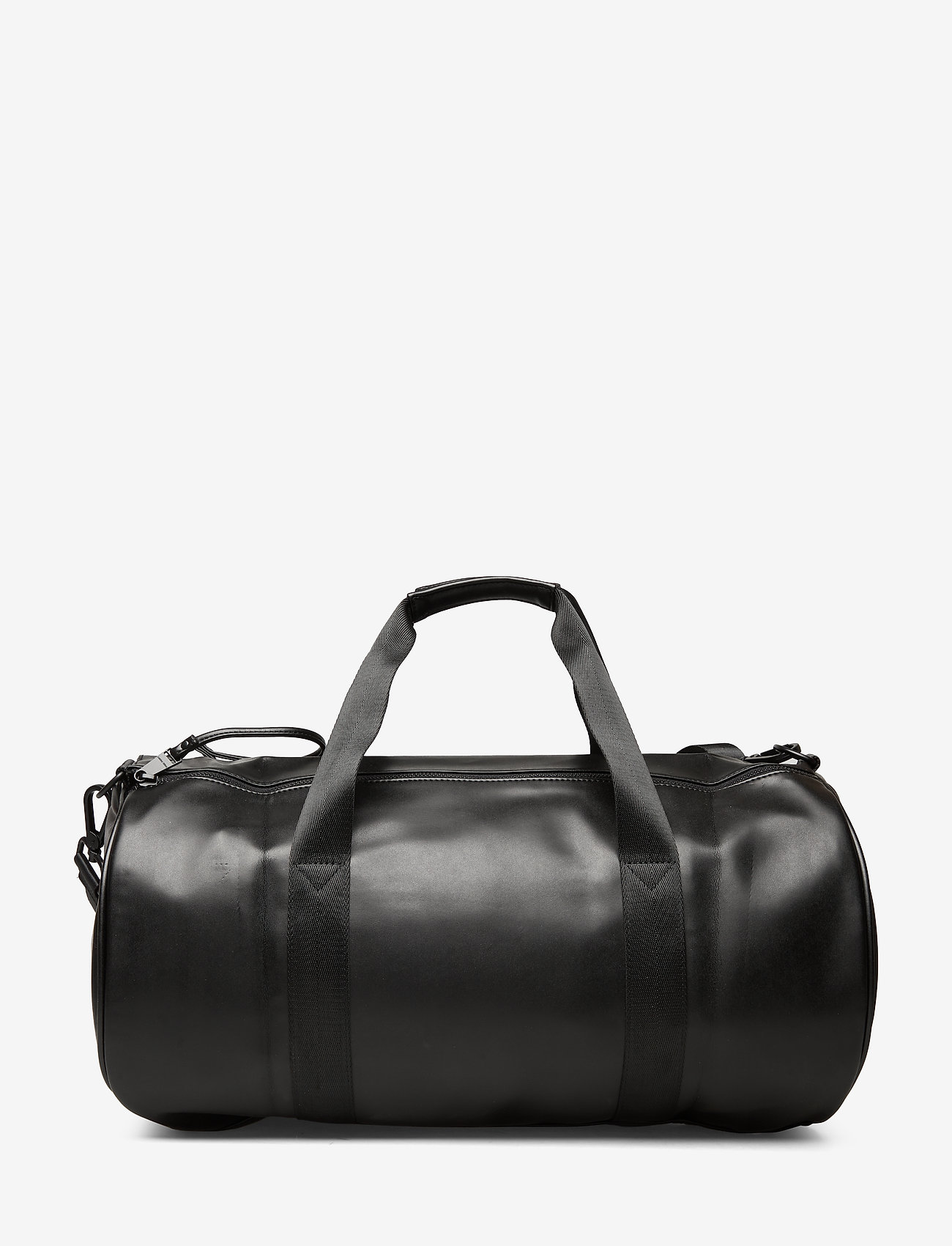 Fred Perry Embossed Pu Barrel Bag - Weekendväskor Black