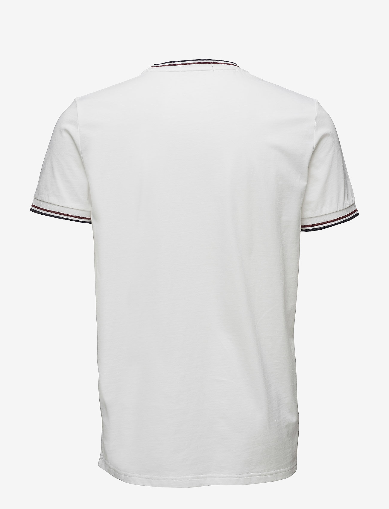 Fred Perry TWIN TIPPED T-SHIRT - T-skjorter WHITE - Menn Klær