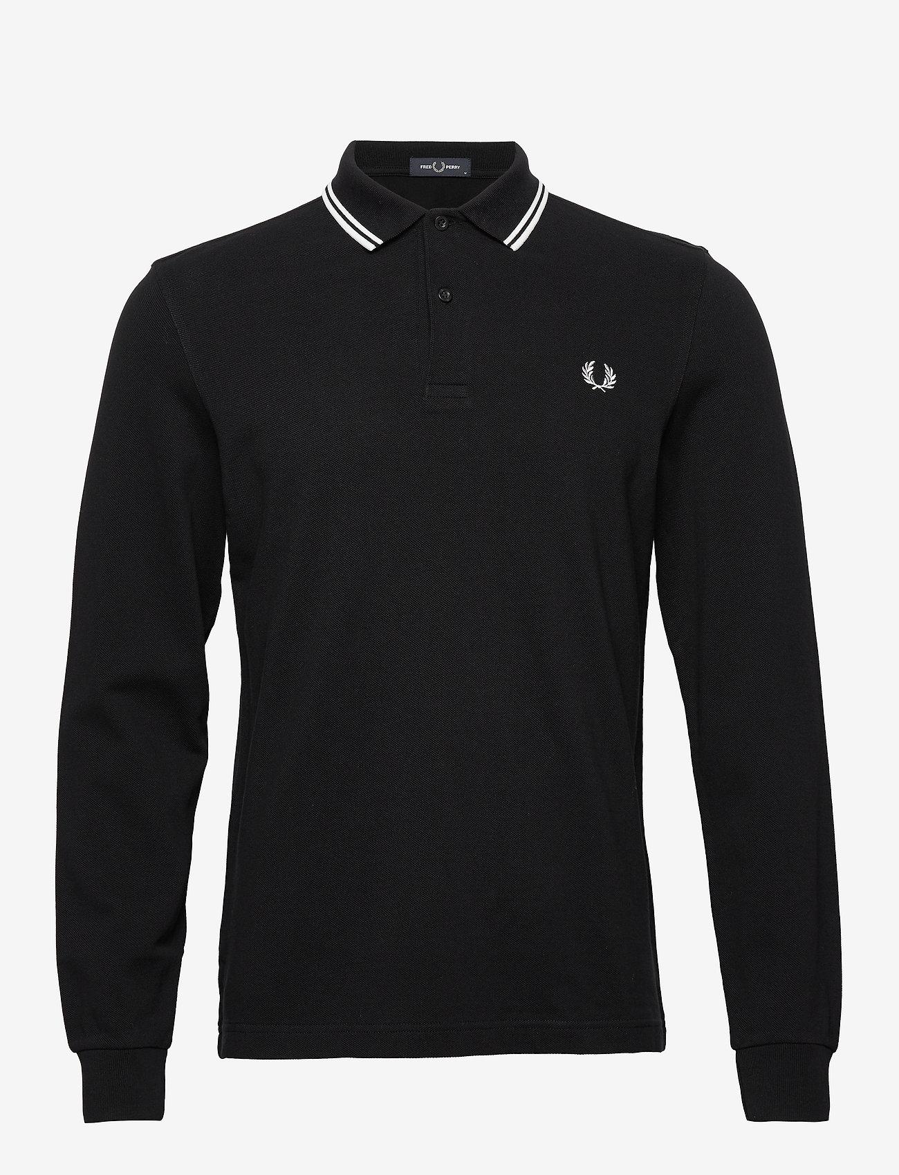 Fred Perry LS Twin Tipped Shirt - Poloskjorter BLACK - Menn Klær