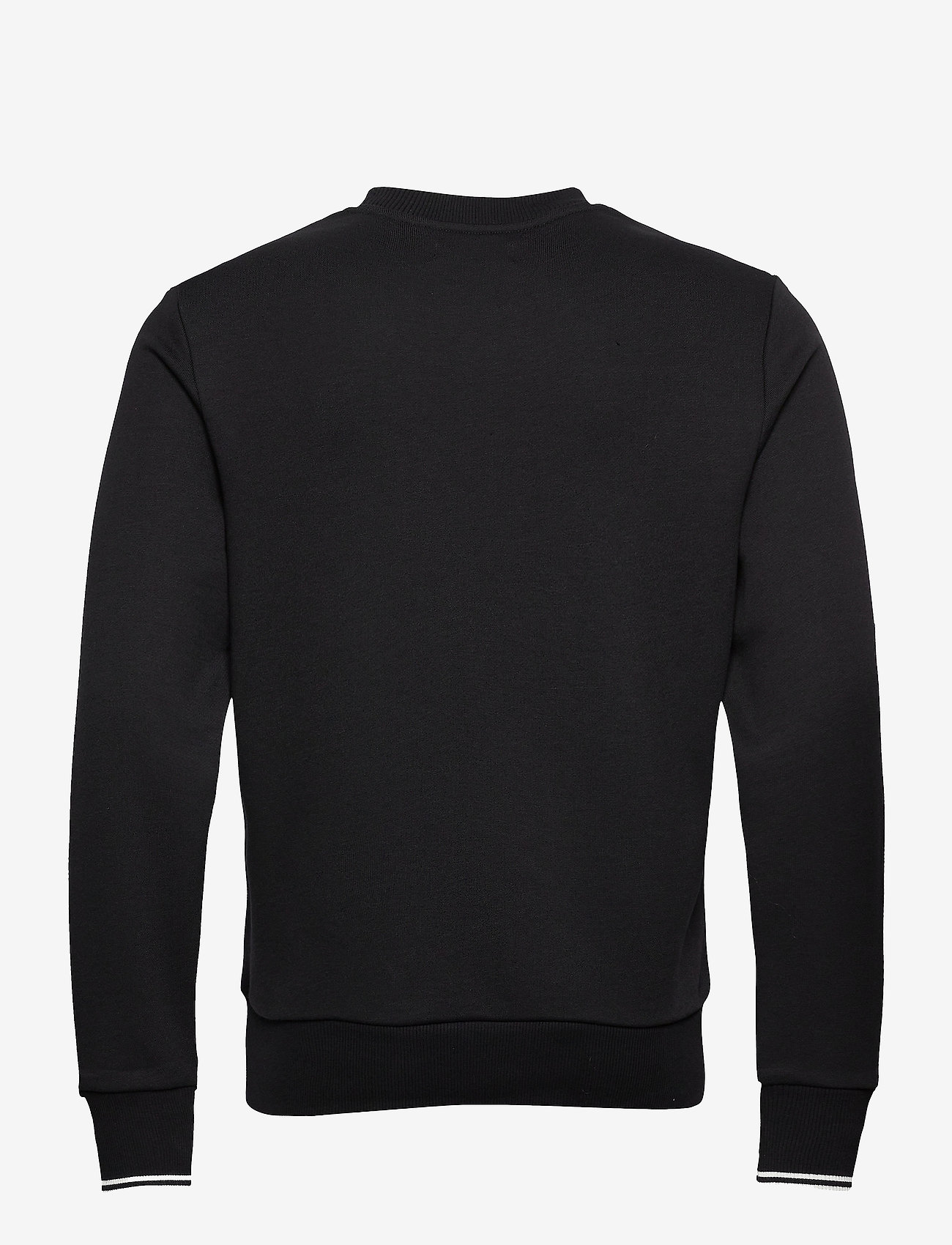 Fred Perry CREW NECK SWEATSHIRT - Sweatshirts BLACK - Menn Klær