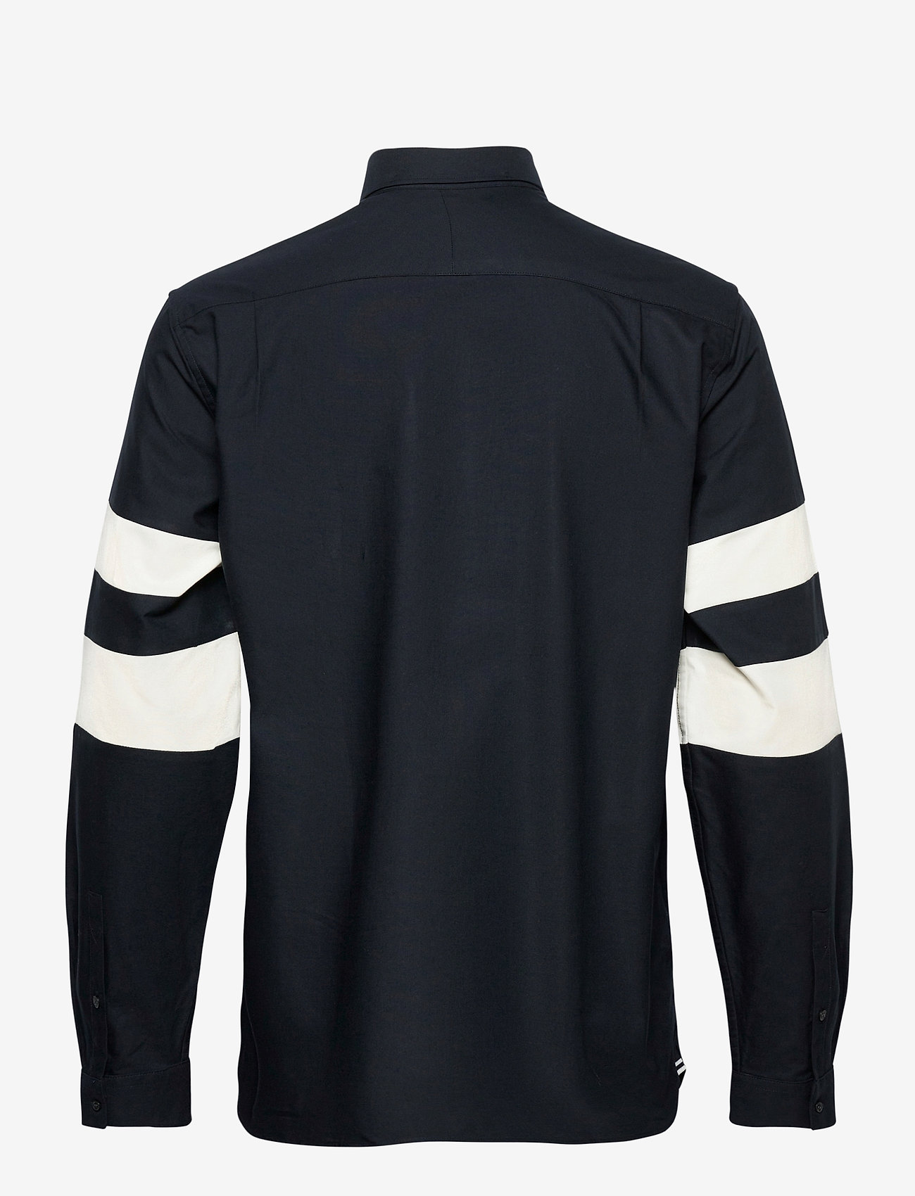 Fred Perry TWIN TIPPED L/S SHIRT - Skjorter NAVY - Menn Klær