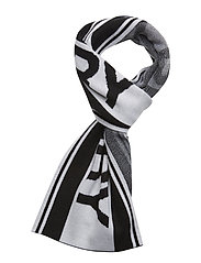 FRED PERRY SCARF - BLACK/SNOWW.