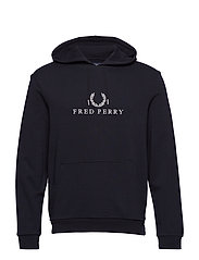 EMBROIDERED SWEAT - BLACK