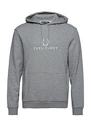 f9a698dd288 Fred Perry. C/n sweatshirt 899.25 kr 1199 kr. EMBROIDERED SWEAT - STEEL MARL