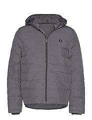 Hooded Jacket - CHARCOAL