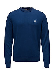 CLASSIC C/N SWEATER - BRIGHT AIRFORCE