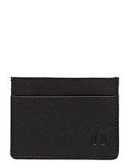 SAFFIANO CARD HOLDER - BLACK