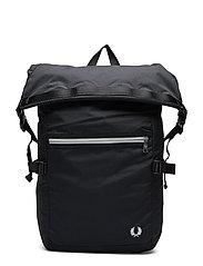 Back Pack Ryggsäck Väska Svart FRED PERRY