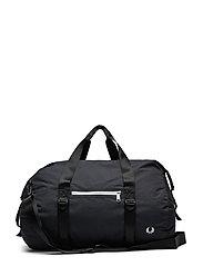 Roll Top Barrel Bag Bags Weekend & Gym Bags Svart FRED PERRY