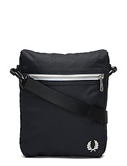 Side Bag Skulderveske Svart FRED PERRY