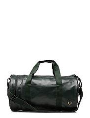 Tonal Pu Barrel Bag - DARK GREEN