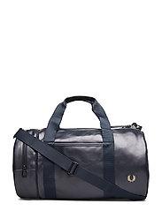 Tonal Pu Barrel Bag - DARK NAVY