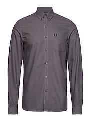 CLASSIC OXFORD SHIRT - GUNMETAL