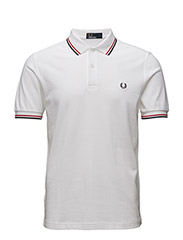 TWIN TIPPED FP SHIRT - WHITE/RED