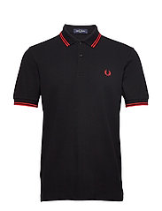 TWIN TIPPED FP SHIRT - BLK/RED/RED
