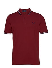 TWIN TIPPED FP SHIRT - DARK RED