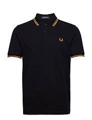 TWIN TIPPED FP SHIRT - NAVY/GOLD/GOLD