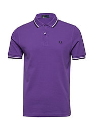 TWIN TIPPED FP SHIRT - PURPLE/WHT/NAVY
