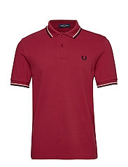 TWIN TIPPED FP SHIRT - RICH RED