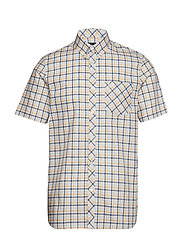 4 COL GINGHAM SHIRT - SOFT YELLOW