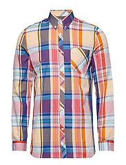 MADRAS CHECK SHIRT - RED