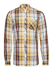 MADRAS CHECK SHIRT - SUNSET GOLD