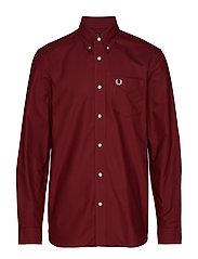 Classic Oxford Shirt - MAROON
