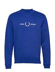 Graphic Sweatshirt - BRIGHT REGAL