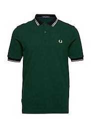 CONTRAST POLO SHIRT - IVY
