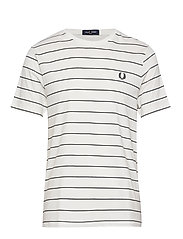 Fine Stripe T shirt (Navy) (524.25 kr) Fred Perry