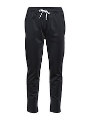EMBROIDERED TRACK PANT - BLACK