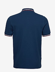 Fred Perry - TWIN TIPPED FP SHIRT - lyhythihaiset - deep marine/snwwht/tawny port - 1