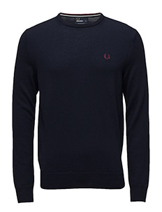 CLASSIC CREW NECK - 395 DARK CARBON