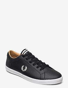 BASELINE LEATHER - låga sneakers - black