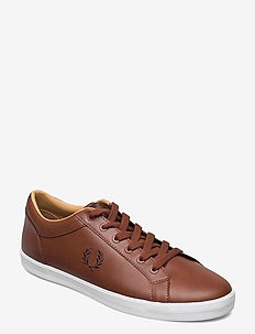 BASELINE LEATHER - lave sneakers - tan